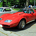 Chevrolet corvette custom de 1973 (Retrorencard juin 2010) 01