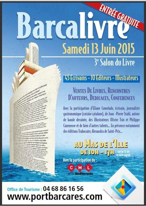 BARCALIVRE, 3ème Salon du Livre à Port-Barcarès