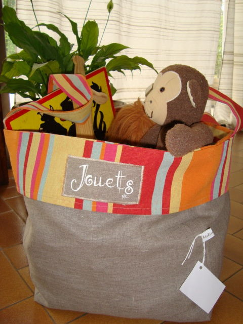 le sac pour ranger ses jouets atelier de l 39 oie. Black Bedroom Furniture Sets. Home Design Ideas