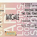 The ting tings / cajun dance party / black kids - vendredi 14 novembre 2008 - festival des intockuptibles, la cigale (paris)