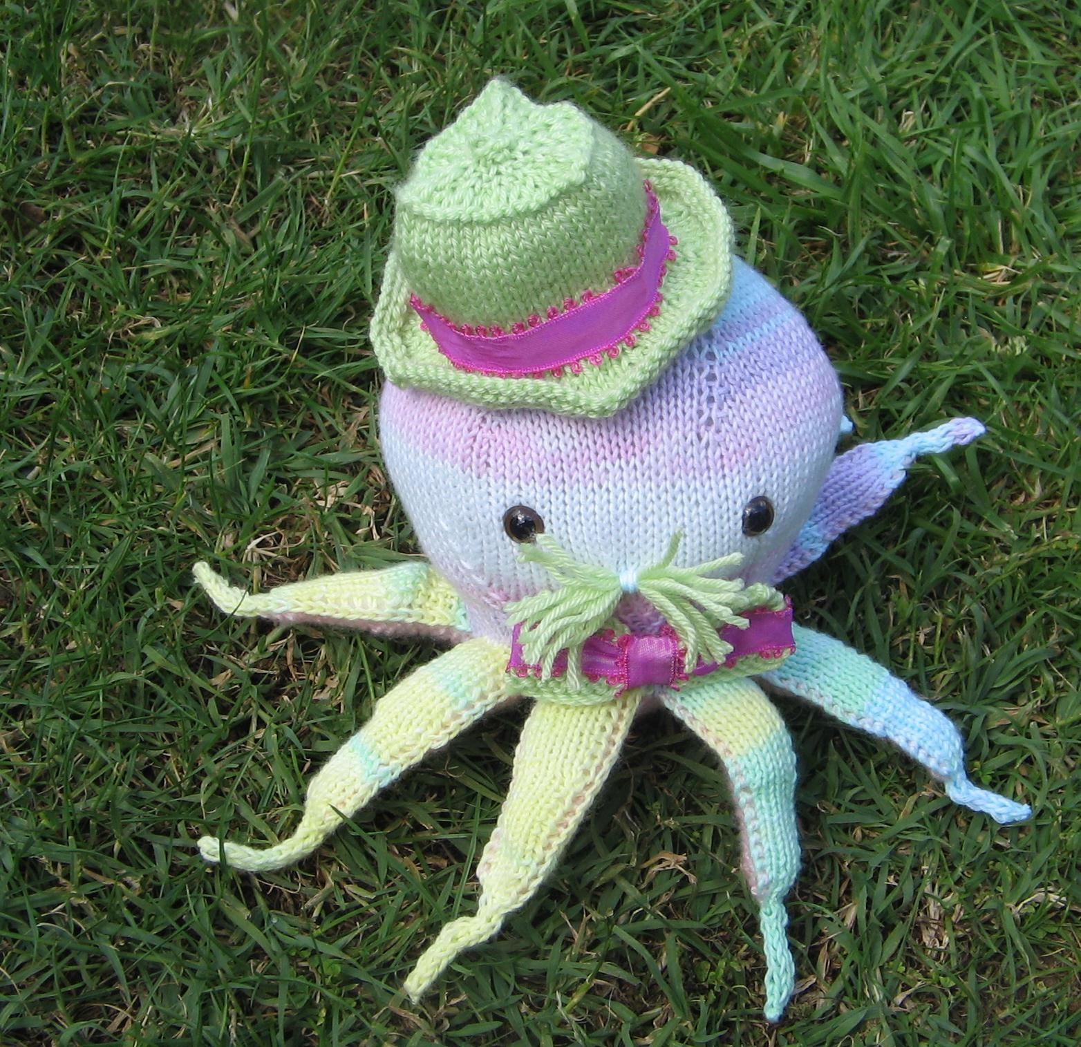 tricoter une pieuvre