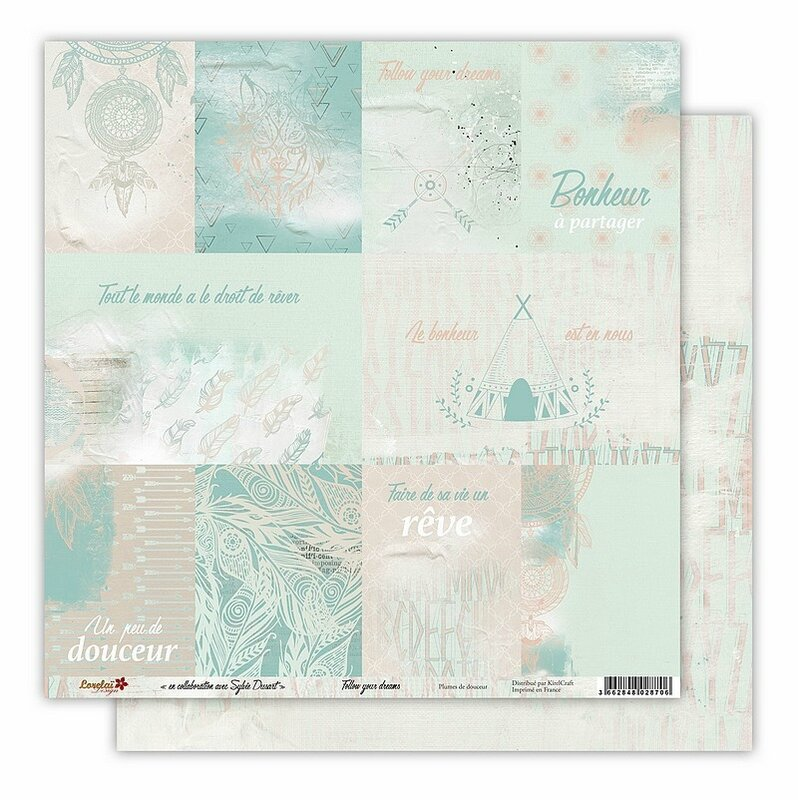 Lorelai Design Follow Your Dreams Reve Plume de Douceur