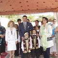 Prince Moulay Rachid hands sports competition of blind people the Alaouite Center for the Protection of Blind People in Temara, July 14, 2005