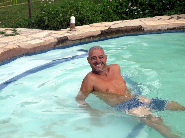 Le Captain et la piscine de Jacare