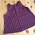 Robe trapèze écossaise