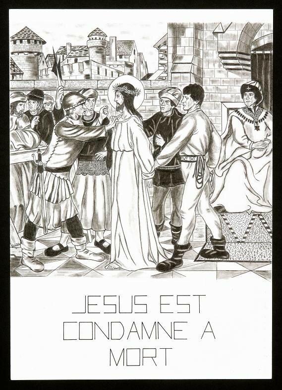 1- Jésus est condamné à mort