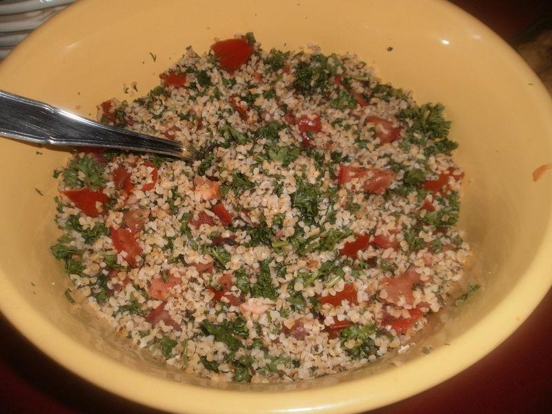 taboulé libanais - brèves de cuisine