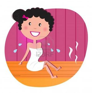 8984216-sante-et-spa--happy-femme-souriante-detente-sauna-infrarouge-illustration-vectorielle