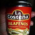 Ensalada de pollo con jalapeños (mexique)