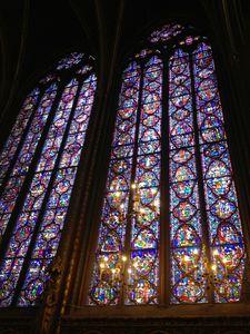 13 Verrieres, vitraux, chapelle haute, Sainte chapelle de Paris 013
