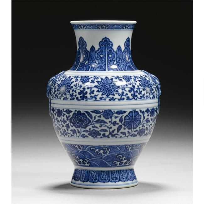 Qianlong blue and white @ Sotheby's. Fine Chinese Ceramics ...