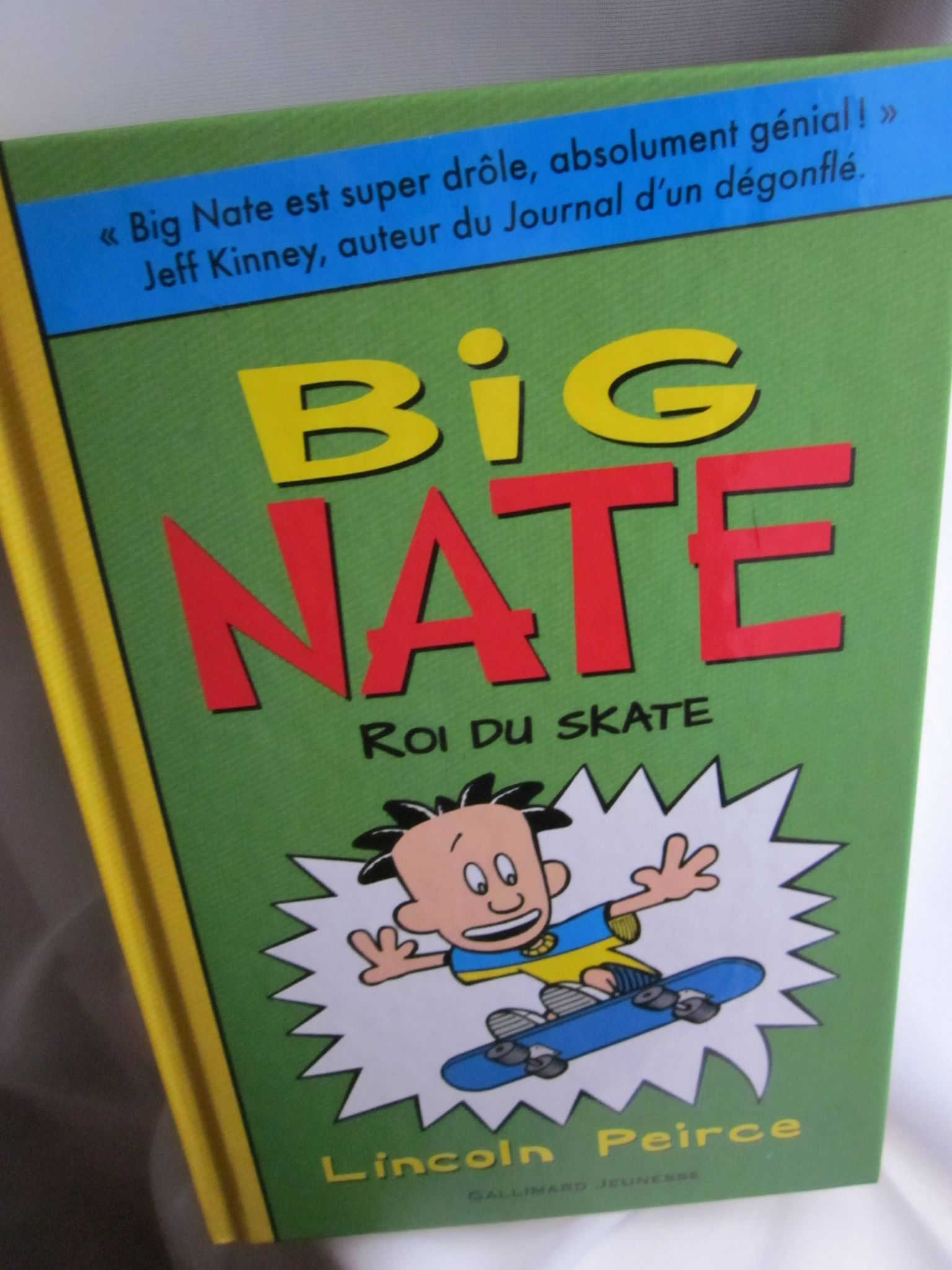 BIG NATE Lot 12 Lincoln Pierce Books Goes for Broke Flips Out Out Loud from Top