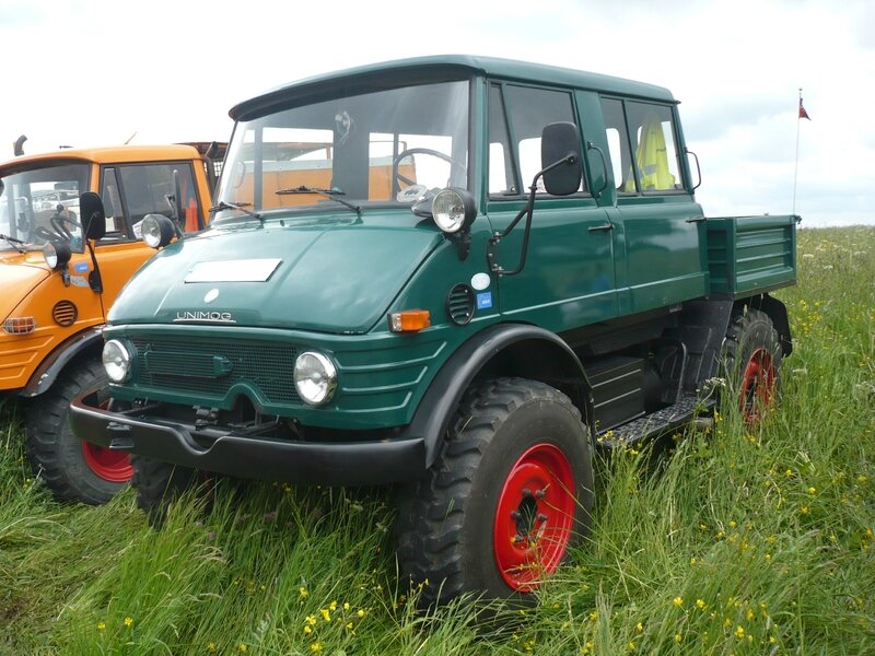 UNIMOG type 406 double cabine Bad Teinach - Schmieh (1)