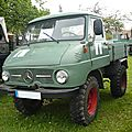 UNIMOG type 411 Westphalia 1965 Bad Teinach - Schmieh (1)