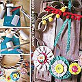 ❀ ✄ diy couronne printemps récup / diy toilet paper roll wreath ✄ ❀