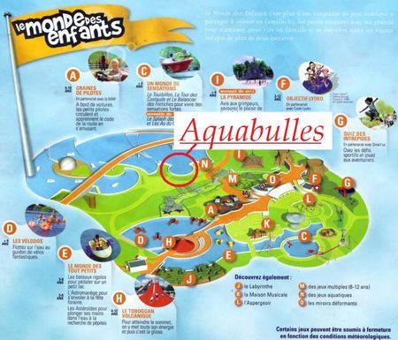 Les aquabulles blog futuroscope for Aquabulle laval tarif