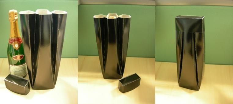 emballage papcart bouteille de champagne les emballages. Black Bedroom Furniture Sets. Home Design Ideas