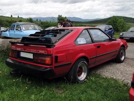 TOYOTA Celica TA60 Liftback generation 3 1981 1985 Exposition de vehicules sportifs du Club Ravage HOHBUHL 2010 2