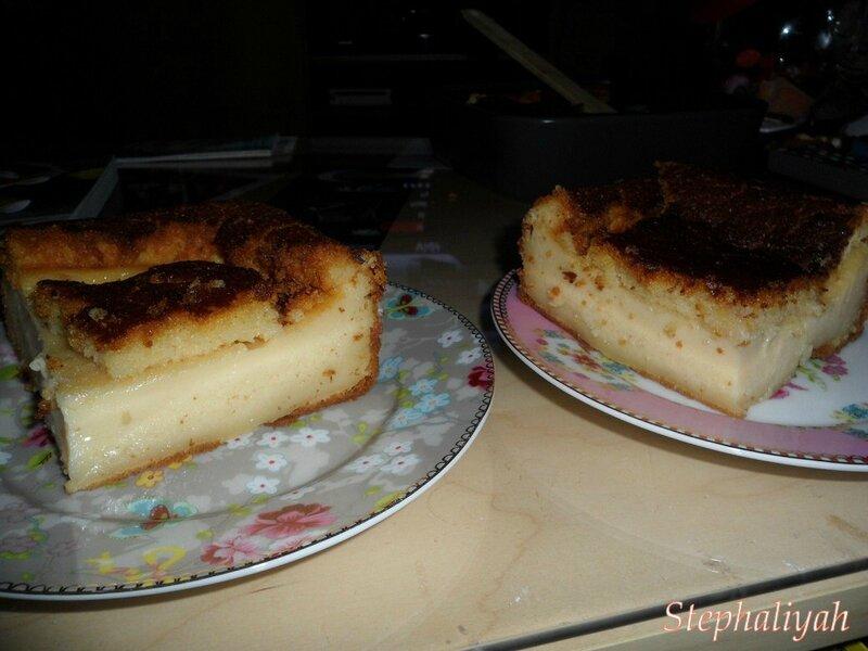 Gâteau magique -- 2
