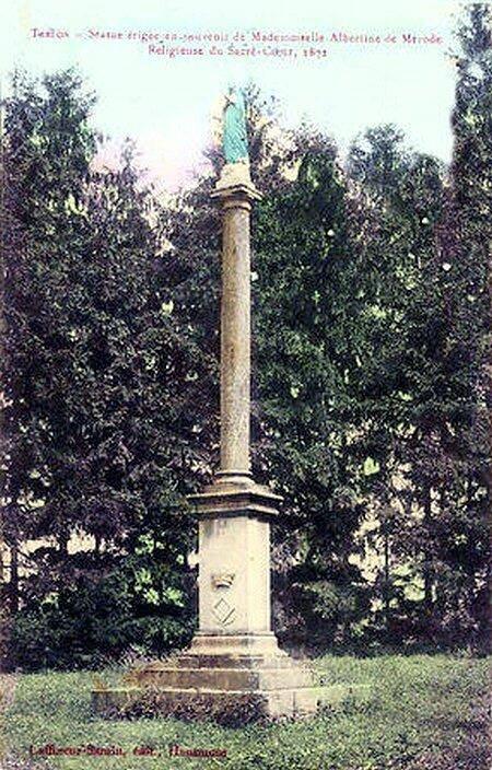 TRELON - Monument Albertine De Mérode 1906
