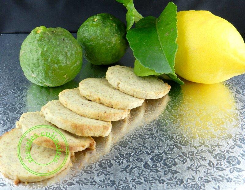 Biscuits citron et noix de pécan