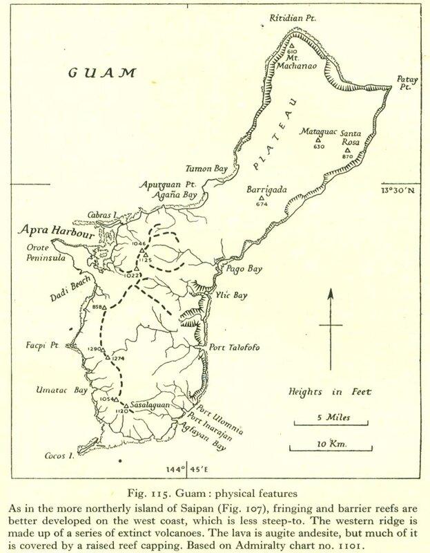 Carte Guam 2