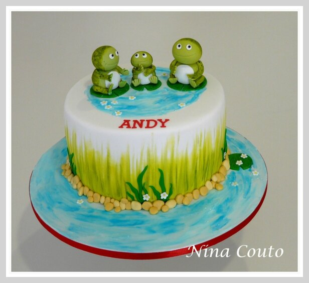 gateau anniversaire grenouille nimes 1