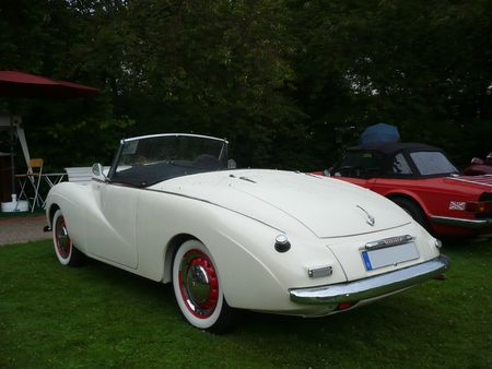 SUNBEAM Alpine Mk1 roadster 1953 Baden Baden (2)