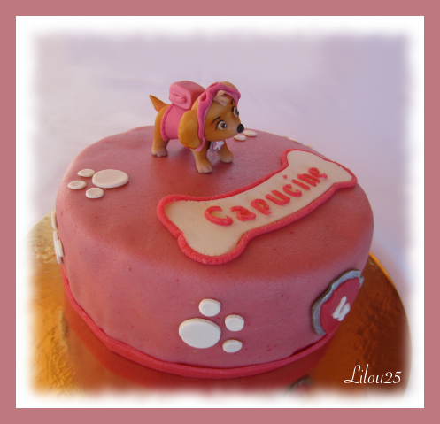 stella de pat patrouille - gâteaux en fête de lilou 25