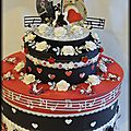 Urne de mariage thème musique