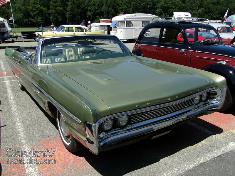 Plymouth fury 3 convertible 1970-1