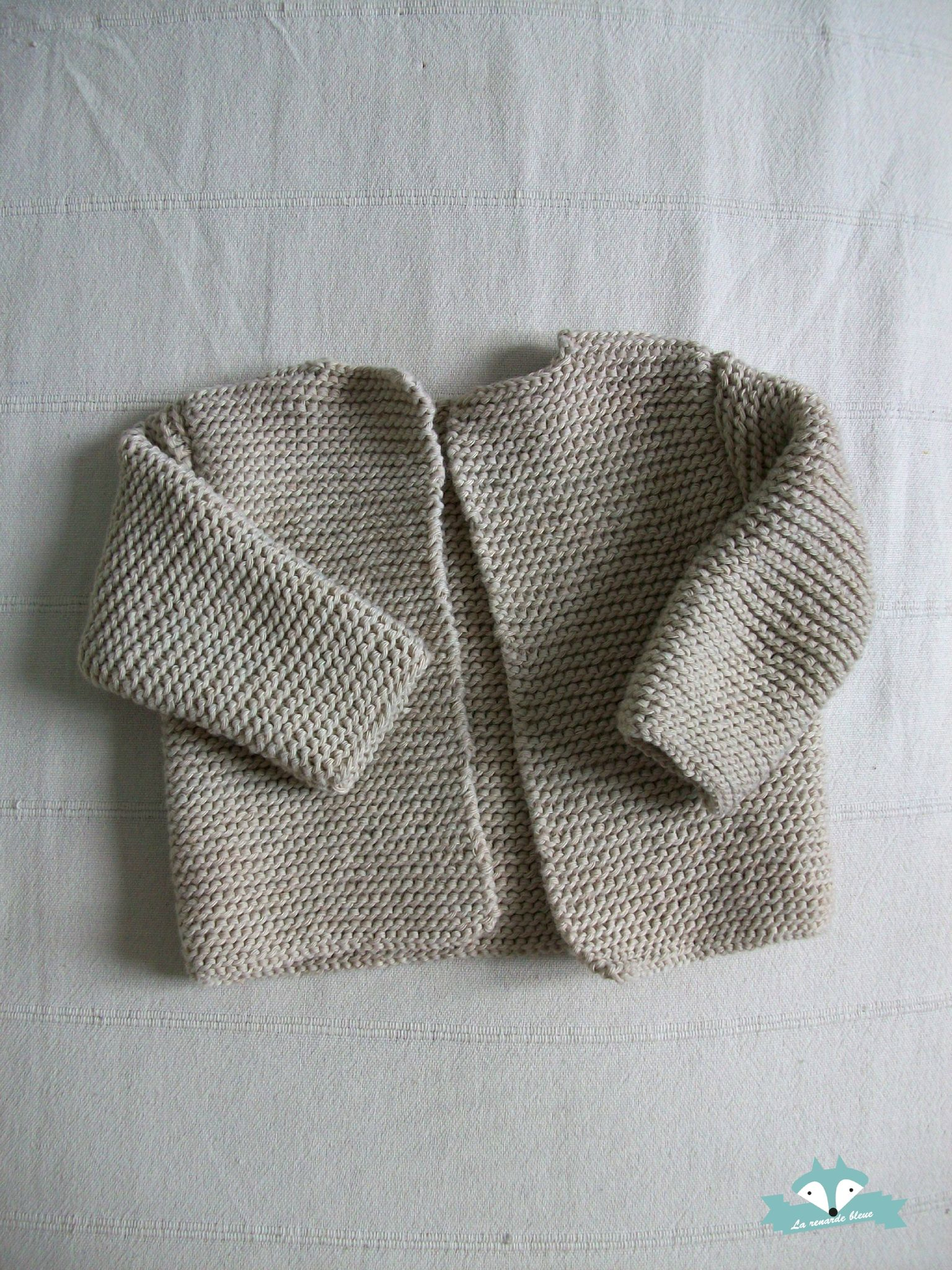 pull naissance tricot