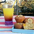 Cocktail téquila sunrise & muffins tutti-frutti