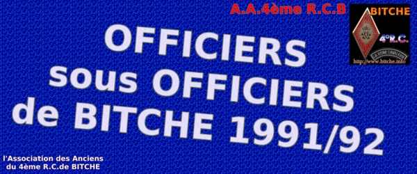 OFFICIERS sous OFFICIERS de 1991 001