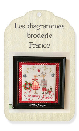 4) Les diagrammes broderie France