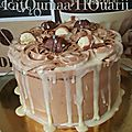 Layer cake bueno lait & white