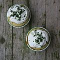 Cupcakes sals au saumon fum, topping mascarpone et citron vert