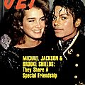 Michael jackson & brooke shields: they share a special friendship - jet, 27 février 1984