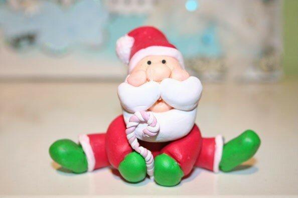 Père Noël en Fimo