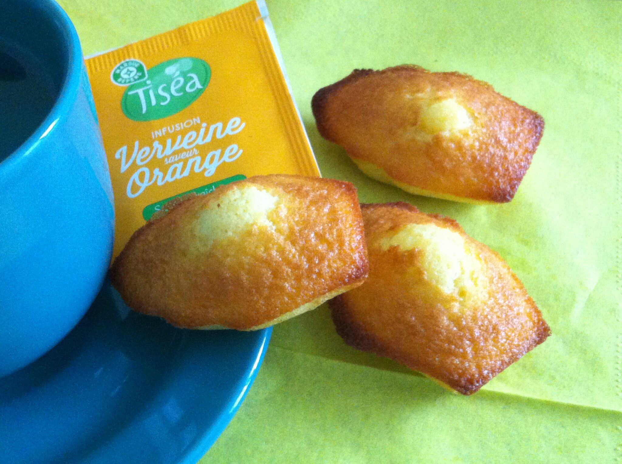 MADELEINES A L' ORANGE