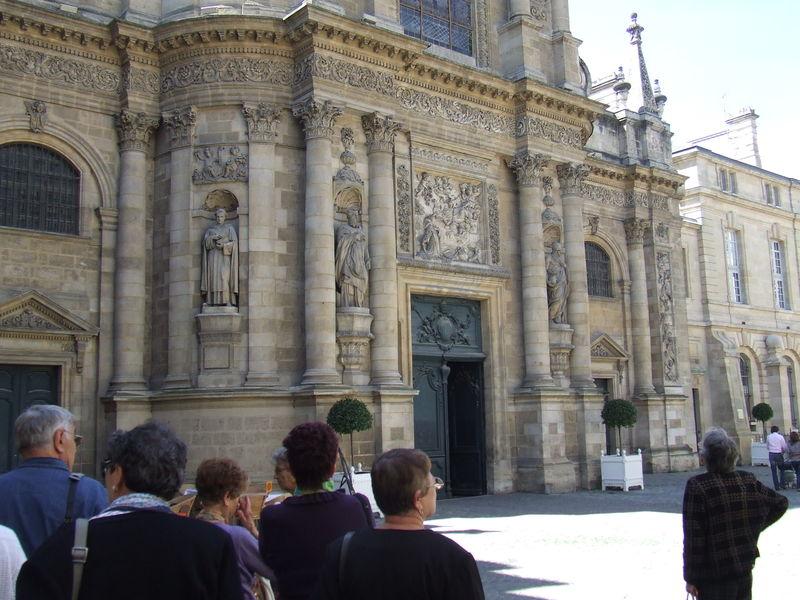 Notre-Dame (partie de la façade)
