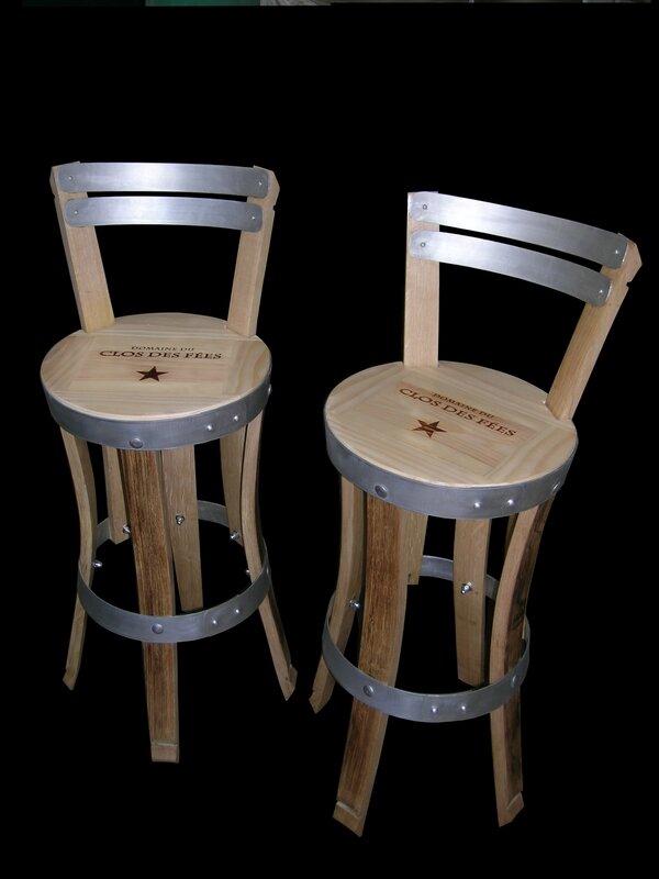 brad pitt furniture,château de miraval, pitt-jolie miraval,chaise de bar,hight chair,design furniture,cellar furniture,highchair,design chair,wine and wood,douelle design,www