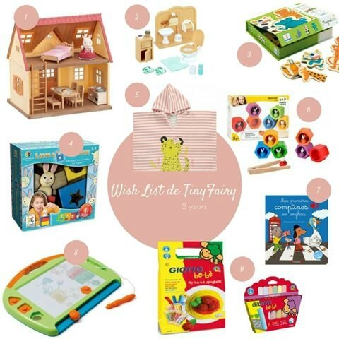 Wish list des 2 ans ©Kid Friendly