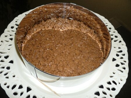 Croustillant pralin mousse chocolat (14)