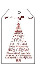 Etiquettes de Noel 2