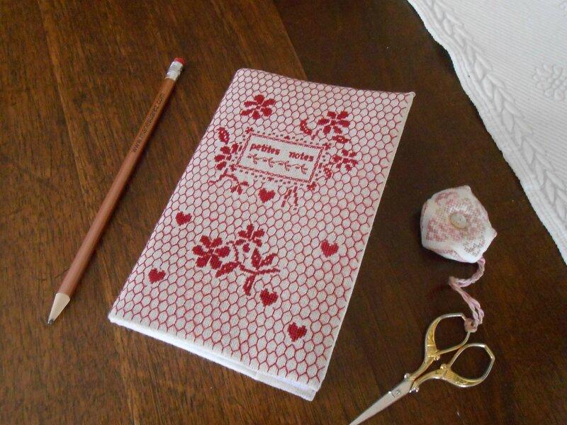 carnet Petites notes MS