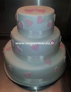 Wedding-cake Coeurs Vos Gourmandiz