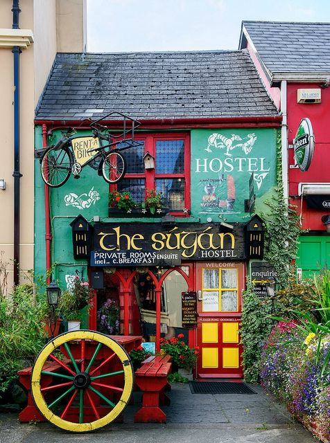 A Colorful House in Killarney