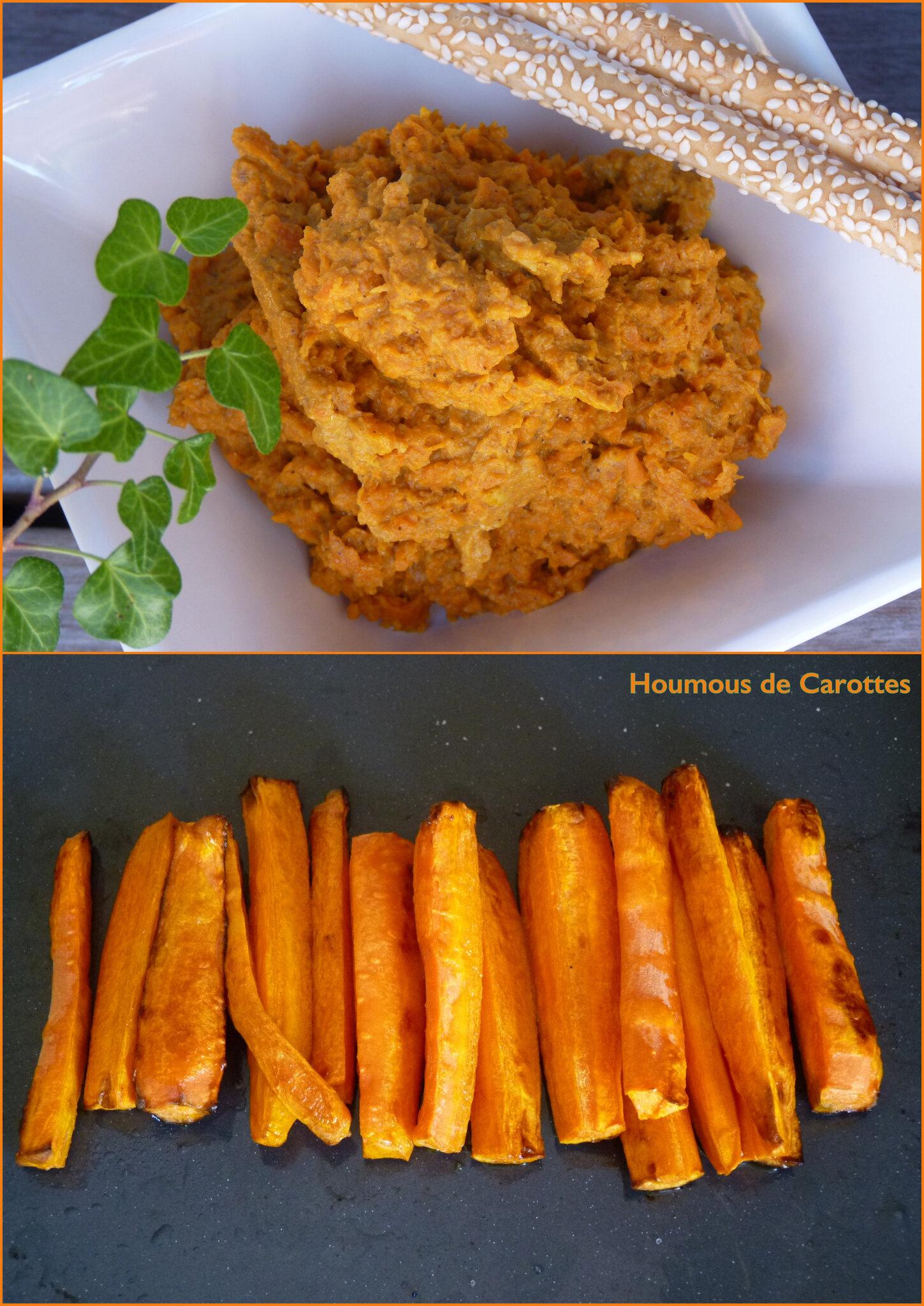 Houmous de carottes