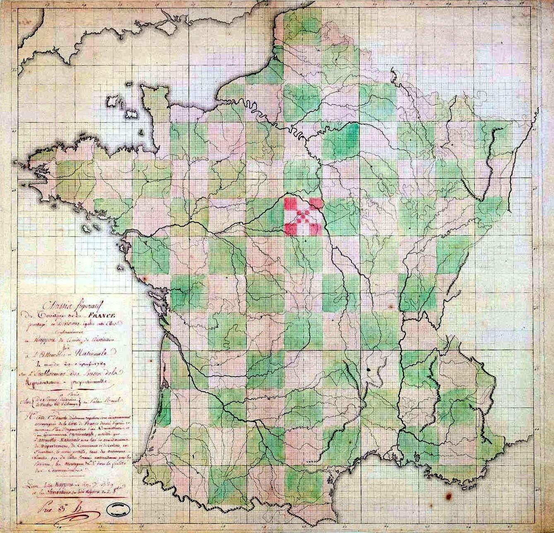 Le 13 janvier 1790 à Mamers : combat pour un siège de district.